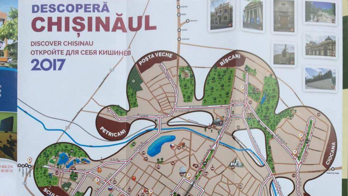 Agora Foto A Fost Lansată Harta Interactivă A Chișinăului Cu