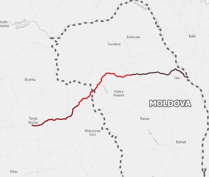 Agora Hartă Autostrada Tg Mureș Iași Ungheni Cat Ar Costa și