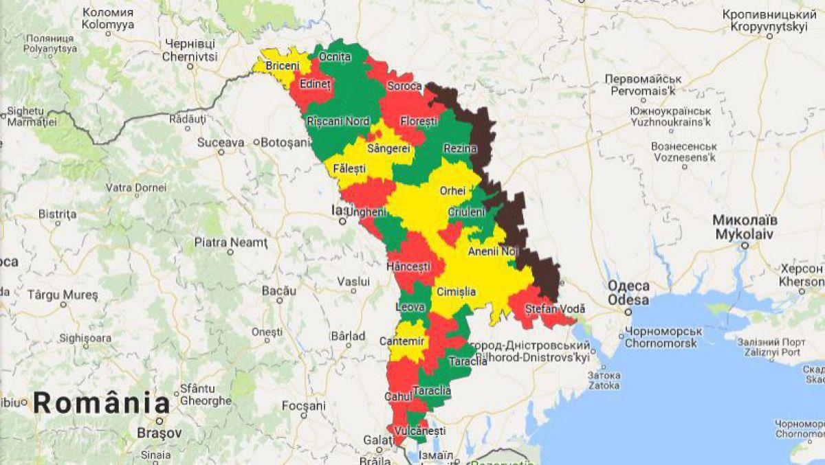 Agora Hartă Unde In R Moldova Au Loc Cele Mai Multe