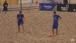 Fotbal pe plajă: Republica Moldova a cedat în fața Cehiei la penalty