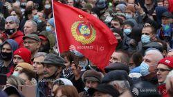 Protest împotriva rezultatelor alegerilor parlamentare din Rusia, la apelul Partidului Comunist