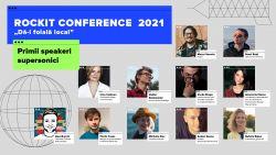 """""""Dă-i foială local"""". Evenimentul marca Rockit Conference 2021 anunță primii speakeri supersonici!"""
