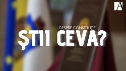Tu ce știi despre Constituție? Ce putere are, cine o poate modifica sau câte cuvinte conține (QUIZ)