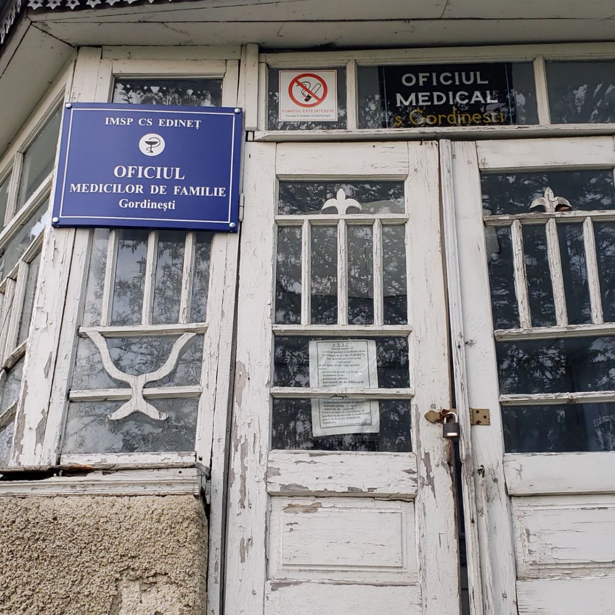 Gordinești, Centrul medicilor de familie