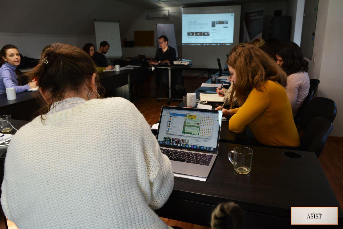 Mobile Journalism, curs al ASIST și AGORA