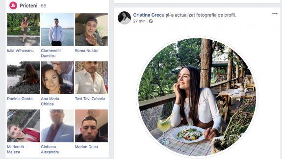 Furt de identitate la AGORA: Pozele unei reportere, folosite la crearea unui cont fals pe Facebook (FOTO)