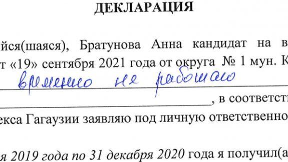 Profil de candidat   Circumscripția Nr. 1 Comrat. Află cine sunt candidații la funcția de deputat în Adunarea Populară