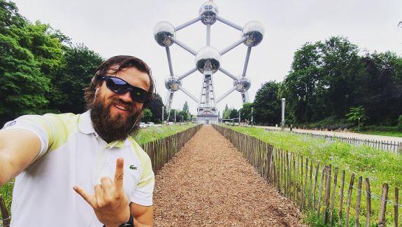 """Cu bicicleta, prin lume. Moldoveanul Ștefan Gîncu și-a încheiat aventura: """"Această călătorie nu a fost despre locuri, dar mai mult despre oameni"""""""