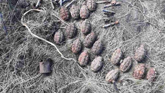 Deminare în raionul Ștefan-Vodă: 160 de obiecte explozive și 2.221 de cartușe au fost neutralizate