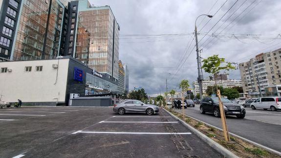 Parcarea publică municipală de pe strada Ismail a fost amenajată