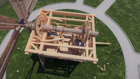 Moara de vânt din satul Gaidar va fi restaurată. Aceasta își va redeschide curândușile în calitate de obiectiv turistic
