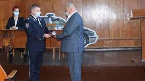 Inspectoratul de Poliție Briceni are un nou șef interimar