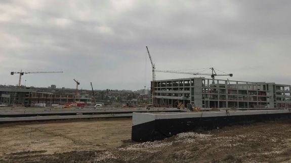 """""""Chișinău Arena"""" este gata în proporție de 60%. Se lucrează la corturile de tenis, bazin și aqua park (FOTO)"""