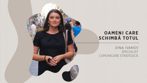 Oameni care schimbă totul: Comunicarea de criză - pași concreți și exemple bune în PR. Discuție cu Dina Ivanov (VIDEO)