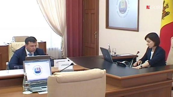 """""""În ședința Guvernului trebuie să respectăm regulamentul"""". De ce Sandu i-a făcut observație lui Năstase, la întâlnirea Cabinetului de Miniștri (FOCUS)"""