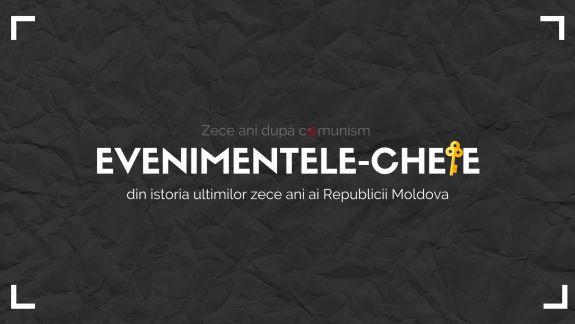 10 ani după comunism: Evenimentele-cheie din istoria ultimilor zece ani ai Republicii Moldova