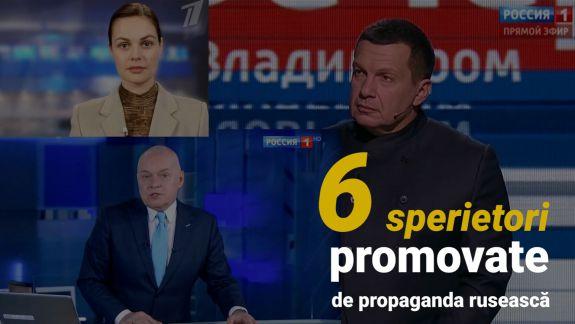 Șase sperietori utilizate de propaganda rusească pentru a influența cetățenii moldoveni (VIDEO)