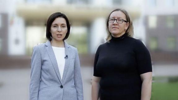 A încălcat legea pentru că s-a filmat în fața Parlamentului. Judecătoria Chișinău i-a interzis candidatei ACUM, Galinei Sajin, să difuzeze publicitatea electorală (DOC)
