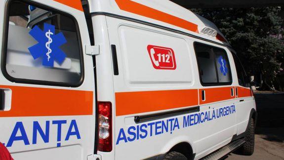 Ambulanță, vandalizată în raionul Ștefan Vodă