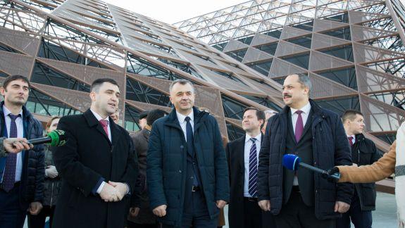 Arena, de Guvernul Sandu criticată, de Ion Chicu este lăudată. Premierul a inspectat complexul