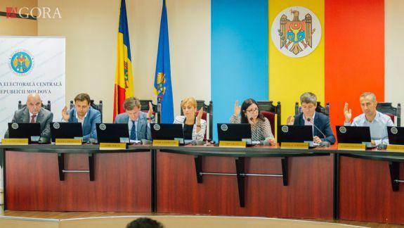 CEC examinează cererea de înregistrare a Partidului Șor la alegerile parlamentare (LIVE)