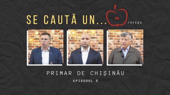 """Chirtoacă, Cebotari și Diacov la """"Se caută un... priM(Ă)R"""": Despre nesimțire, deal-uri și felul în care arată Chișinăul (VIDEO)"""