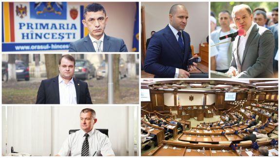Cinci deputați sunt gata să renunțe la fotoliul de parlamentar în favoarea celui de primar