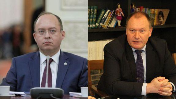 """Criticile ministrului român de Externe, la întâlnirea cu Ciocoi, numite """"schimb consistent de opinii"""" în comunicatul MAEIE"""