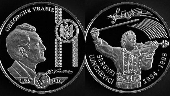 Cu chipurile lui Volontir, Sainciuc și Vrabie. De ziua leului, BNM a lansat șapte monede comemorative