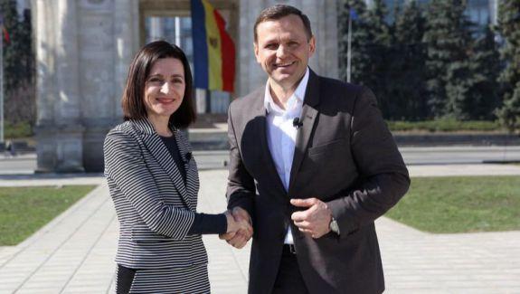 Cum a reacționat Maia Sandu la înfrângerea lui Andrei Năstase (VIDEO)