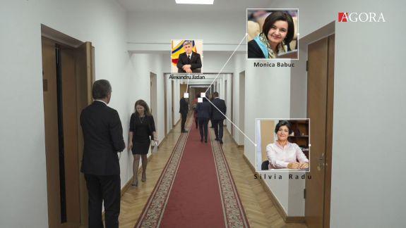Cum fug miniștrii de jurnaliști. Majoritatea preferă să vină la ședința Guvernului pe ușa din spate (VIDEO)