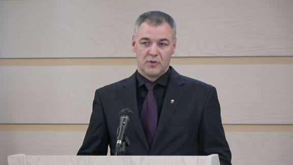 Octavian Țîcu părăsește fracțiunea PPDA și își anunță candidatura la Primăria Chișinău (VIDEO)