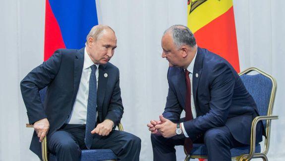 Dilema lui Dodon: Discursul lui Putin sau negocierile de la Chișinău?