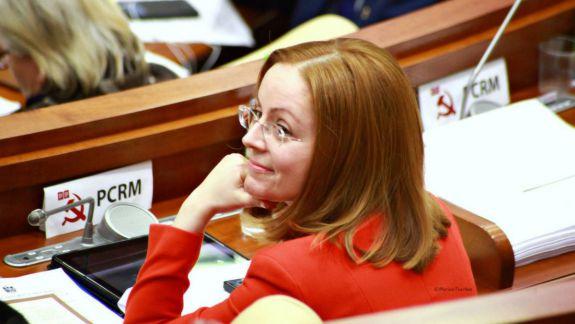 Din Parlament, în societatea civilă. Fosta președintă a fracțiunii parlamentare PCRM, angajată la un ONG