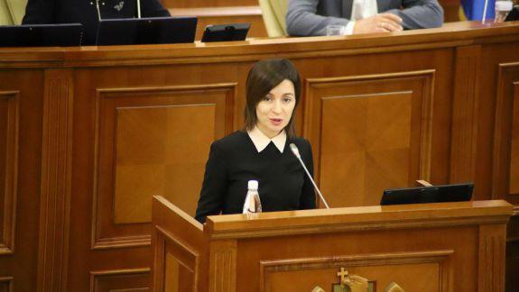 Discursul Maiei Sandu în Parlament: Funcția de procuror general a fost tranzacționată pe sub masă. Am decis să procedez altfel (VIDEO)