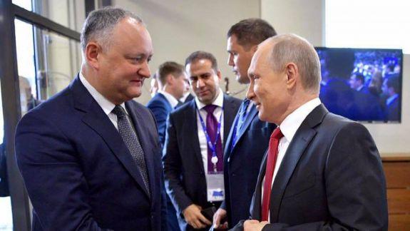 Dodon: Putin e un exemplu pentru mine (FOCUS)