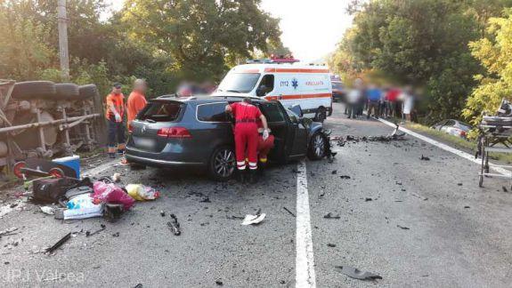 Doi cetățeni ai Republicii Moldova au decedat în România, într-un accident rutier. Un copil de patru ani a fost dus la spital