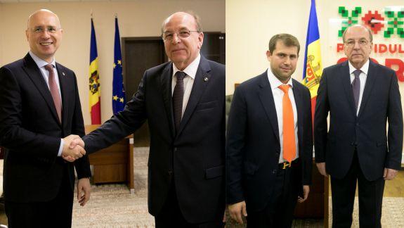 După Pavel Filip, și Ilan Șor s-a întâlnit cu ambasadorul Rusiei la Chișinău. L-a chemat la Orhei