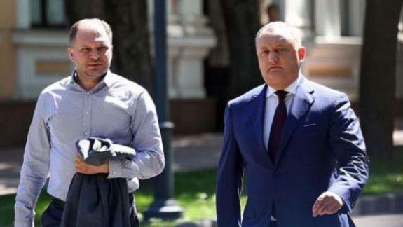 După ce a anunțat că pleacă din PSRM, Ceban este surprins la consultațiile fracțiunii cu Dodon