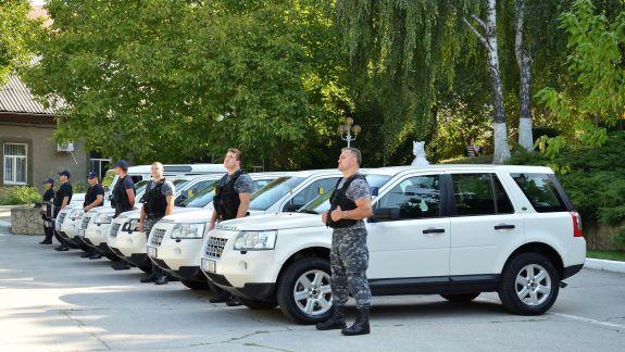EUBAM a donat un lot de automobile Poliției de Frontieră și Serviciului Vamal
