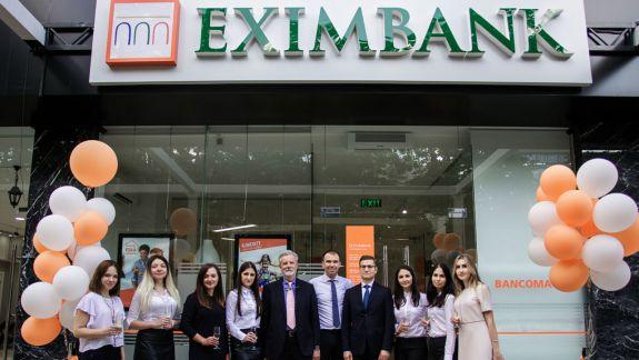 EXIMBANK a inaugurat prima Sucursală aliniată Grupului Intesa Sanpaolo (VIDEO)