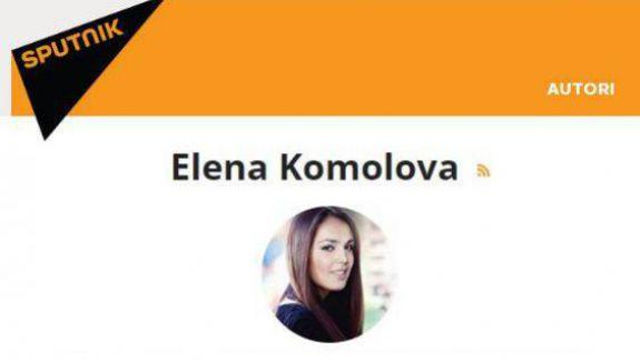 Editorialistă falsă la Sputnik.md, care și-a creat profilul utilizând pozele a două vedete din Rusia