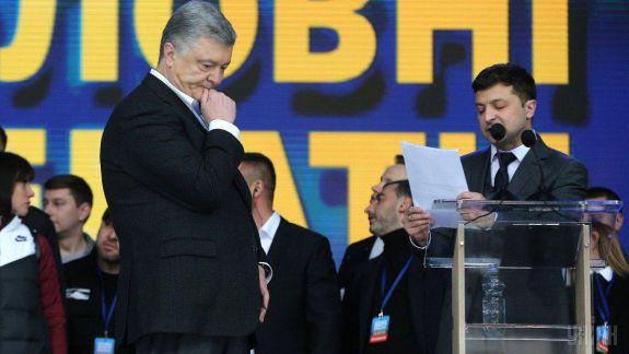 Zelenski câștigă detașat cu 73% din voturi, Poroșenko - 25%. Rezultatele primului exit-poll