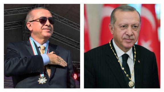 FOTO. Decorat și la Comrat: Erdogan a acceptat cea mai înaltă distincție a UTA Găgăuzia