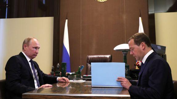 Guvernul rus, condus de Dmitri Medvedev, a demisionat
