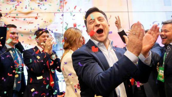 HARTA votului în Ucraina și în lume. Actorul a fost votat masiv în Lugansk, dar și la Chișinău și Bălți