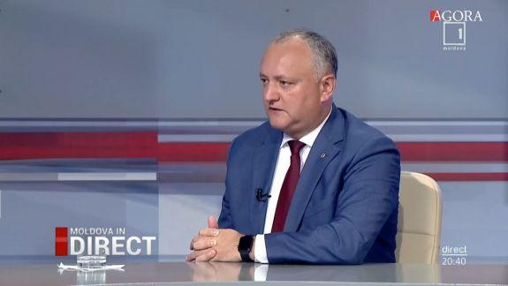 Igor Dodon povestește cum a negociat cu FMI, mâncând plăcinte moldovenești la trei de noapte în Guvern (FOCUS)