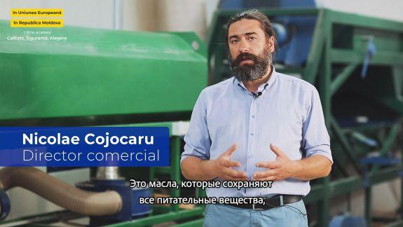 Istoria de succes a companiei moldovenești care produce uleiuri vegetale presate la rece (VIDEO)