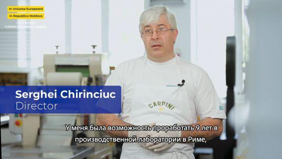 Paste italiene proaspete, produse de o familie de la Hîncești. Vezi istoria afacerii celor doi soți (VIDEO)