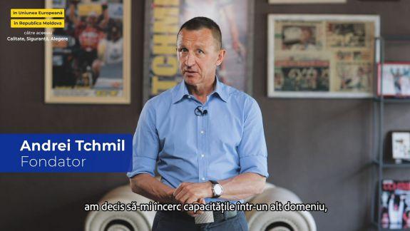 Ieri campion la ciclism - astăzi producător de biciclete! Vezi povestea lui Andrei Tchmil (VIDEO)
